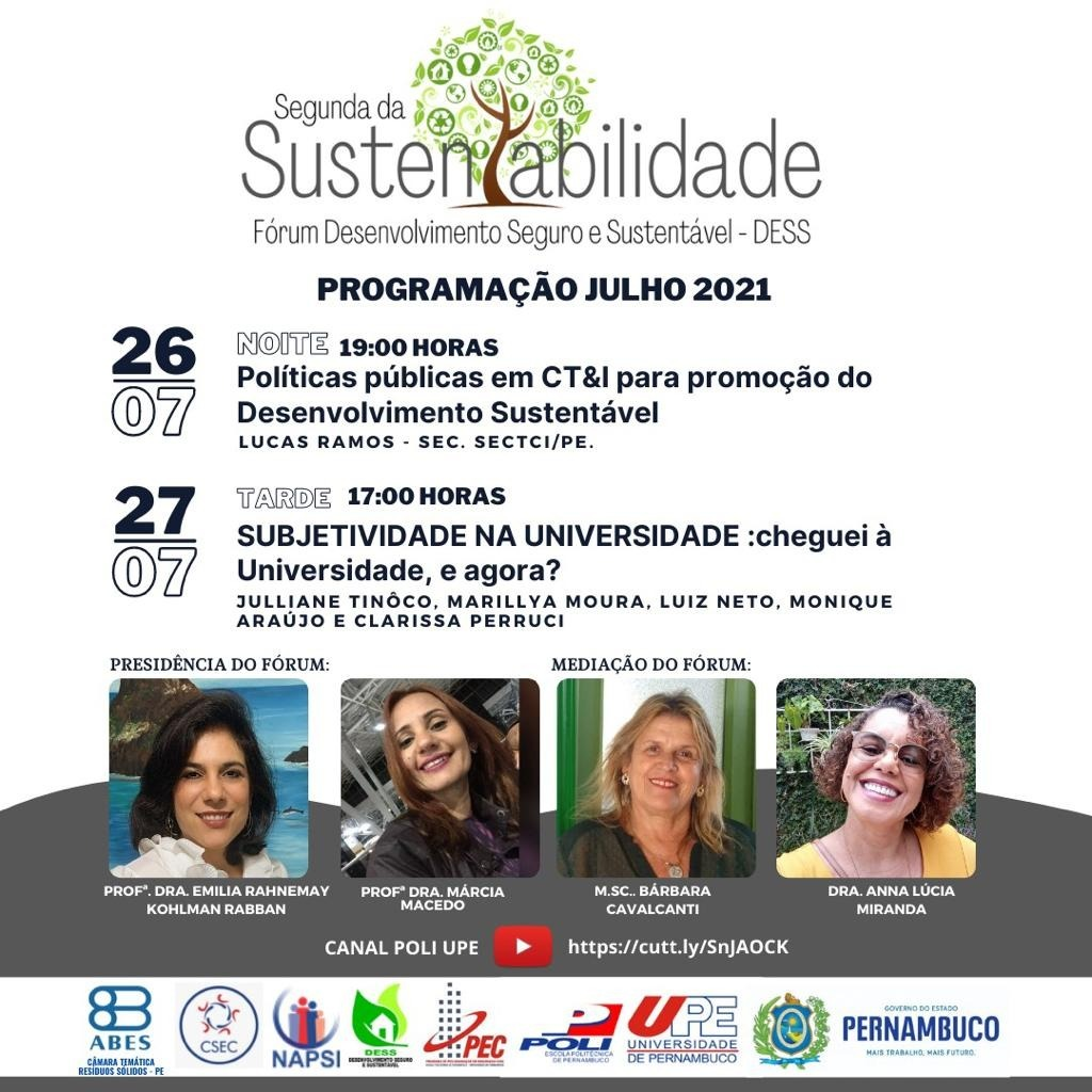 Segunda da sustentabilidade – Julho/2021