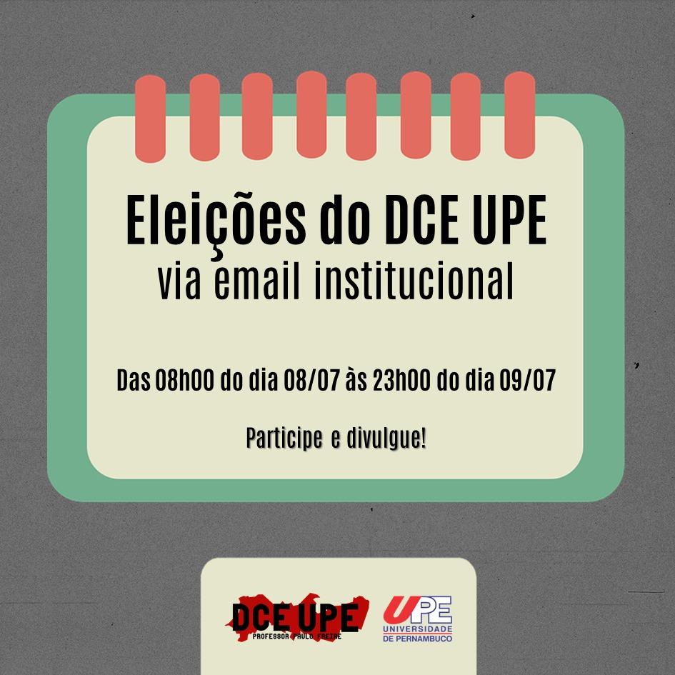 Eleições do DCE UPE