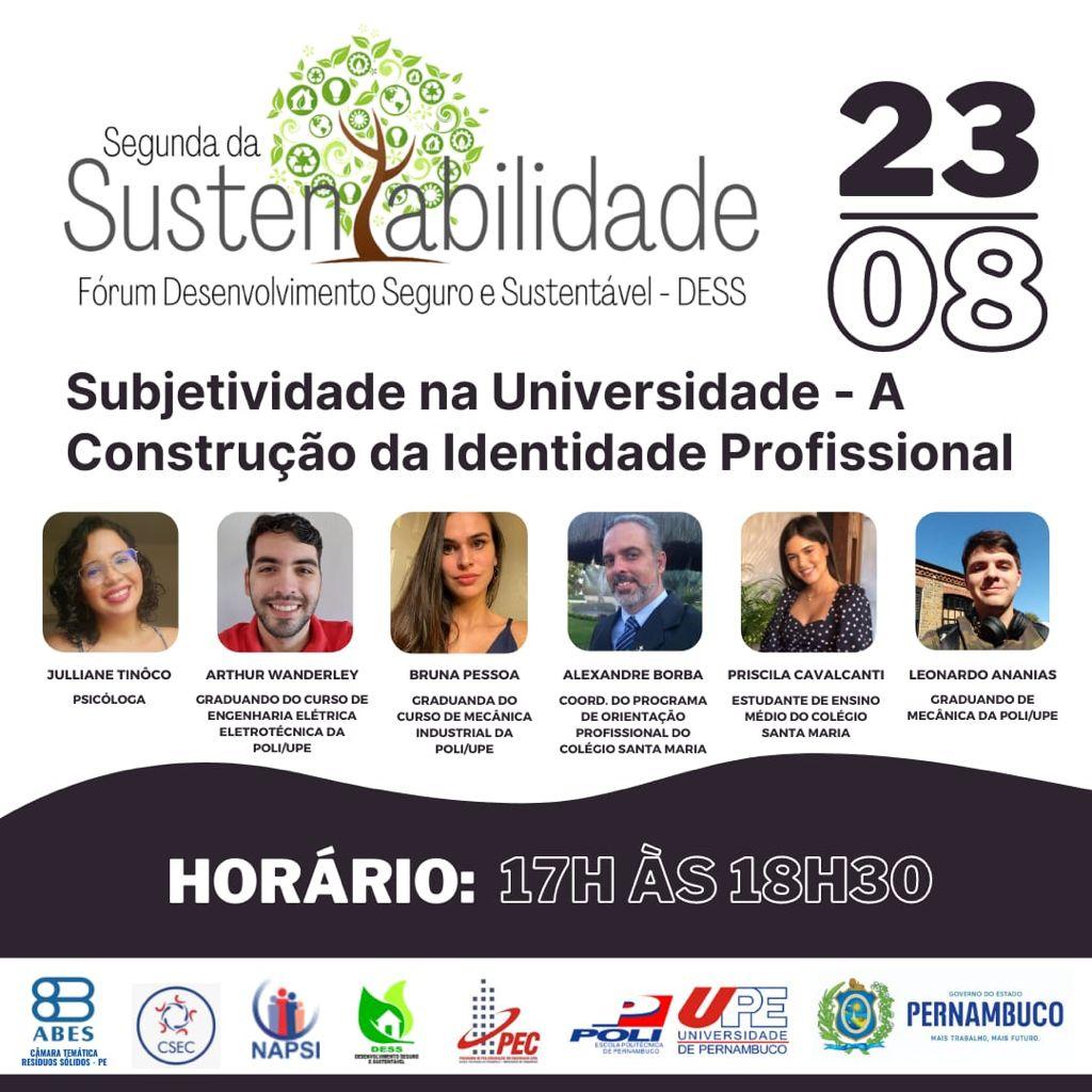 Segunda da sustentabilidade – Agosto/2021